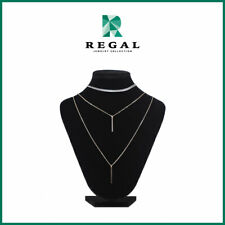 Thia Thomalla - Three-Layered Chain Necklace - Regal Jewelry Collection
