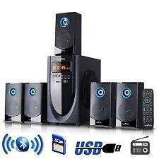 Bluetooth 5.1Ch Home Theater TV Surround Sound Speaker System FM Radio USB/SD