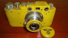 Russian Leica Copy D.R.P. ERNST LEITZ WETZLAR WW2 Vintage 35MM Camera SN357393