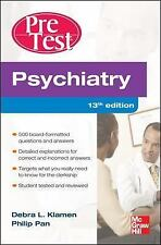 Psychiatry PreTest Self-Assessment And Review, Thirteenth Edition, PDF/E-Book