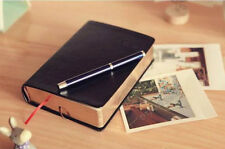 640P Leather-Bound Agenda Book Notebook Korean Style Notebook Diary Book