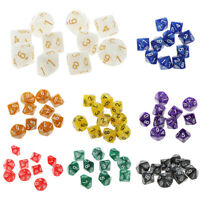 10pcs 10 Sided Dice D10 Role Playing Game Dungeons & Dragons D&D TRPG Game Dice