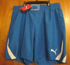 Puma PowerCat 1.10 Adult Men's Royal Blue/White Soccer Shorts Size XL