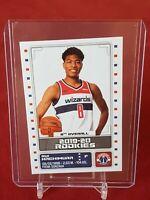 Rui Hachimura Washington Wizards NBA European 2019/20 Panini Rookie Sticker