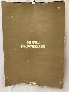 Vintage Pirelli Pin Up Calendar 1973