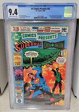 DC Comics Presents #26 (1980) CGC 9.4 - 1st Raven Cyborg Starfire DC Comics Key