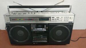 SHARP GF- 9595 H. Stereo Radio Tape Recorder. 1980. Works. Video.