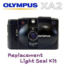Olympus XA2  ~ Lazer Cut Replacement Light Seal Kit ~ Enough for 3x Cameras!