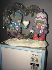 """LARGE 6.5"""" x 5"""" HIGH BOXED ME TO YOU FIGURINE TATTY TEDDY BEAR ~ MELTING MOMENTS"""