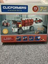 R2B21 CLICFORMERS FIRE RESCUE SET construction click brick set- Brand New In Box