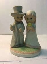 """1983 LEFTON China The Christopher Collection BRIDE AND GROOM 4"""" TALL #03554"""