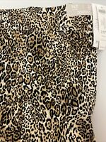 Chicos Pants Size 2.5 US 14T So Slimming Juliet Straight Leg Ankle Pants Cheetah