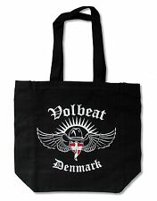 VOLBEAT DENMARK FLAG BLACK TOTE BAG NEW OFFICIAL BAND MERCH