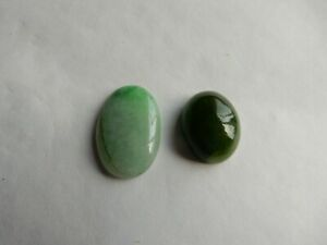 Jadeite and Nephrite Jade, shades of green, 47cts+