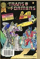 Blackthorne 3-D Series #25 The Transformers In 3-D #1-1987 fn 6.0
