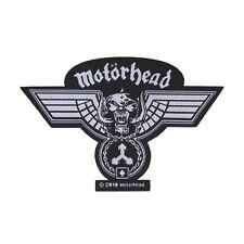 """Motorhead"" War-Pig Medal Patch Hammered Art Heavy Metal Music Sew-On Applique"