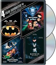 Batman Collection: 4 Film Favorites [2 Discs] DVD Region 1