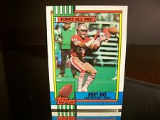 Rare Jerry Rice Topps All Pro 1990 Card #8 San Francisco 49ers