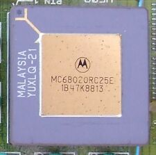 MOTOROLA MC68020RC25E PGA MICROPROCESSORS USERS MANUAL