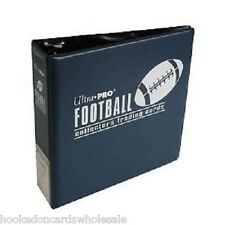 "1 Ultra Pro 3"" Blue Football Trading Card Album Binder New"