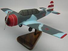 Yak-52 Yakovlev Soviet Yak52 Trainer Airplane Kiln Wood Model Replica Small New