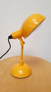HABITAT TOMMY DESK TABLE BEDSIDE LAMP YELLOW