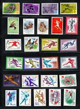 Sport Collection - VF MNH - Olympics, Boxing, Volleyball,.. 26 x