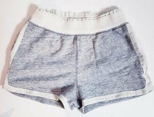 Lululemon Women's Gray Soft Cotton Athletic Yoga Running Pockets Shorts! Size 6