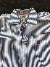 Cinch Button Down Shirt Mens Large Preppy Cowboy Casual