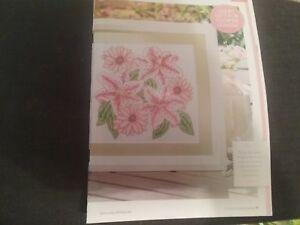 Cross Stitch Chart Art Deco flowers lillies 6 No 310.TSG37
