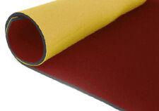 neoprene bifoderato 35x40 - spessore 0,5 mm - giallo/rosso