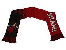 Miami Heat FanSchal rot NBA Strickschal 160x 19cm Schal Basketball Geschenkidee
