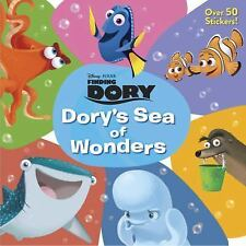 Dory's Sea of Wonders (DisneyPixar Finding Dory) (Deluxe Pictureback)-ExLibrary