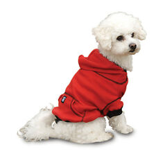 NEW DOG Pet Clothes Thermal Sweatshirt Hoodie Red Black XS-XXL 4-95lbs