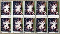 Jim Abbott 1989 Upper Deck #755 Rookie RC 10ct Card Lot