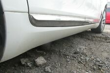 2013 CITROEN DS5 GENUINE OS DRIVERS COMPLETE SIDE SKIRT IN WHITE