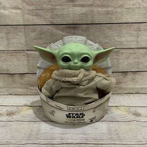 "Star Wars Mandalorian The Child 11"" Plush Baby Yoda Doll By Mattel Ships TODAY!"