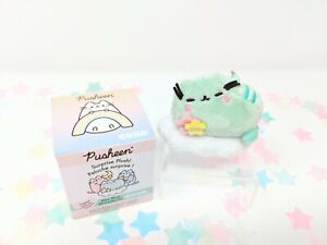 "GUND Pusheen Series 13 Blind Box Plush ""Rainbow!"" - Green on a Cloud"