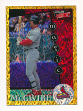Mark McGwire 1999 Ultimate Victory Parallel 1/1 Missing Serial Number #176