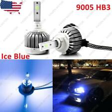 2x Ice Blue 8000K 9005 HB3 COB LED Headlight Conversion Kit for High Low Beam
