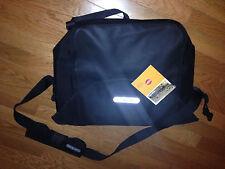 """NWT Ortlieb Waterproof 17"""" Bike Messenger Bag Black L with free Laptop Sleeve"""