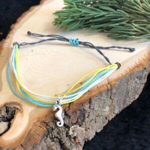 Sea Horse Beach Multicolor Handmade  Bracelet