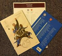 Chelsea v Arsenal Official Programme with official teamsheet 21/1/20!!!