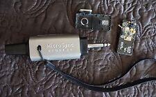 Micro Sync Digital 1 Wireless Transmitter Receiver Kit Broken Not Working