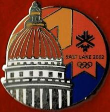 Nice 2002 Salt Lake City State Capital Olympic Games Mark Pin