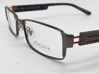 Brille schwarz silber orange ÖGA 6623O Marius Morel Scandi Gr. L NEU 389 Euro