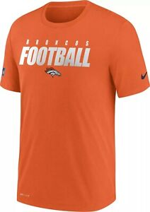 Denver Broncos Men's Nike Sideline Dri-FIT Tee - New With Tags - FREE SHIP