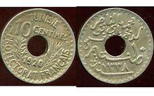 TUNISIE  TUNISIA  10  centimes 1920   ( etat )