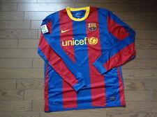 FC Barcelona 100% Original Jersey Shirt L 2010/11 Home Good Condition LS