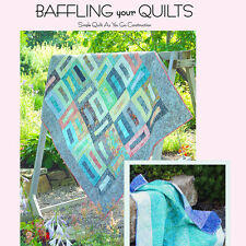 NEW BOOK: Baffling Your Quilts: Simple Quilt As You Go Construction